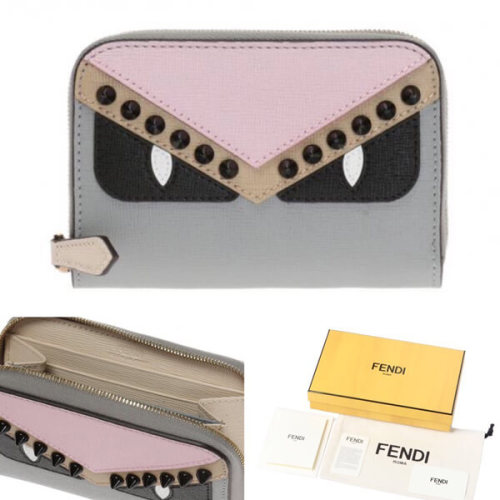 FENDI フェンディ モンスター 財布 コピー 多機能カードコインケース 8M0313 9HF F10Y0