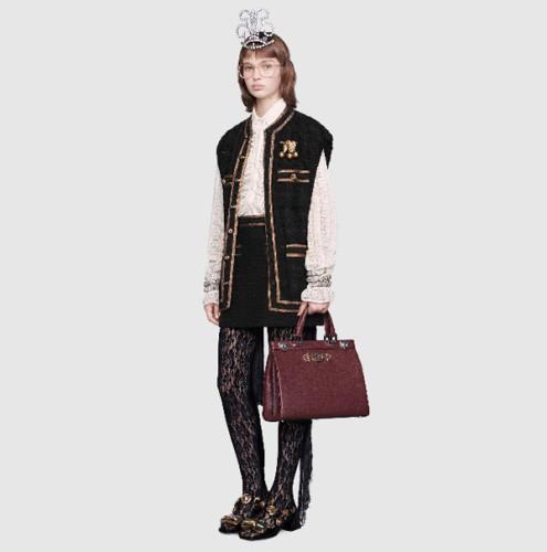 2019AW【GUCCI】グッチスーパーコピー ズゥミ ミディアム トップハンドルバッグ