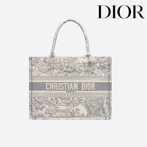 新作【Dior】ディオールブックトートバッグ 偽物/トワル ドゥ ジュイ M1296ZTDT_M956