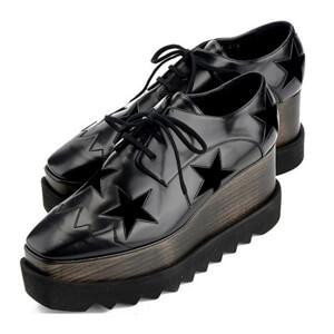 エリスシューズ 偽物 Stella McCartney★ELYSE STARS shoes black