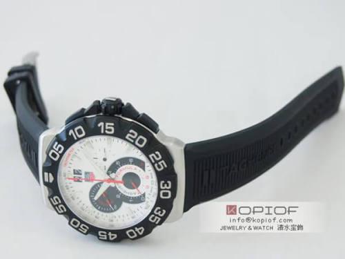 タグホイヤー フォーミュラー1 スーパーコピーCAH1011.FT6026 クロノグラフ グランドデイト シルバー