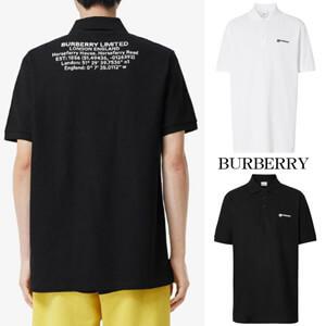 ★BURBERRY★バーバリー ポロシャツ コピー ロケーションプリント 2color