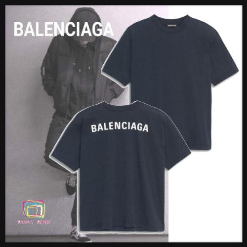 バレンシアガ tシャツ 偽物 大人カジュアル DROOPY ロゴ Tシャツ