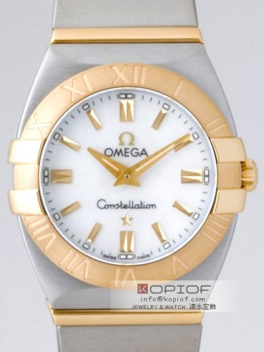 オメガ コンステレーション スーパーコピー1381.70 ダブルイーグル ホワイトシェル