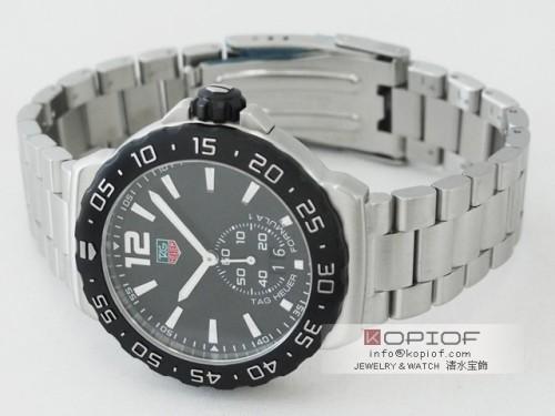 タグホイヤー フォーミュラー1 スーパーコピーWAU1110.BA0858 グランドデイト ブラック