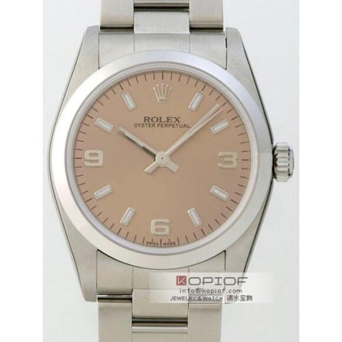 ロレックス パーペチュアル スーパーコピー77080 ピンク3・6・9アラビア