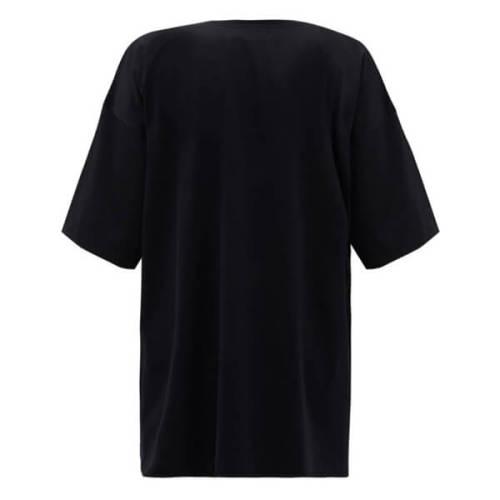 ヴェトモン tシャツ 偽物 Vetements 20SS クリスタルロゴTシャツ 薄手 コットンジャージー素材