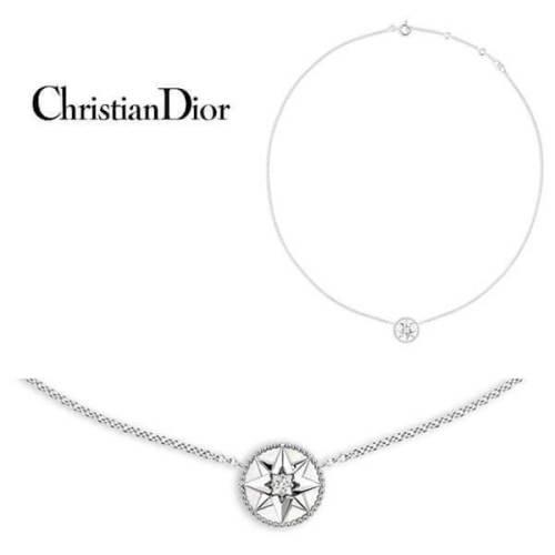 新作ディオールスーパーコピー ブティック限定 Christian Dior ネックレス ホワイトゴールド