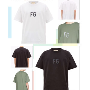 ★大人気★Fear Of God スーパーコピーFG Logo T-shirt