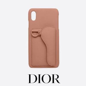 DIOR ディオール iphoneケース 偽物 DIOR Saddle カード収納付き iPhone case S5633SLLO_M989