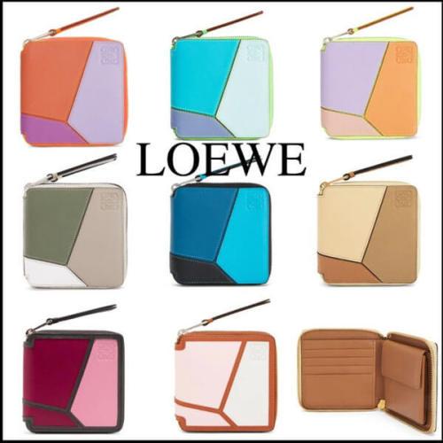 ロエベ 財布 コピー カラー多数Puzzle Squareジップウォレット 128.30WM88