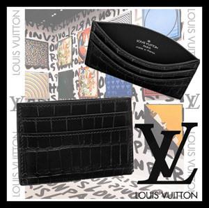 【ギフトに最適☆国内発】ルイヴィトンLouis Vuitton☆偽物ポルト カルト ダブル N92979