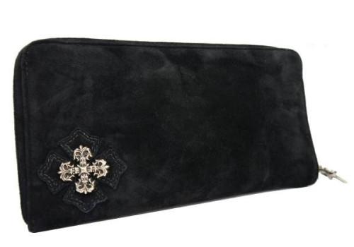 クロムハーツ 財布 コピーフィリグリープラス ブラック財布