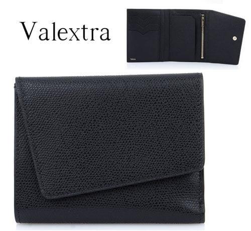 ヴァレクストラ スーパーコピーValextra ツイストウォレット black V9A13 02800ON