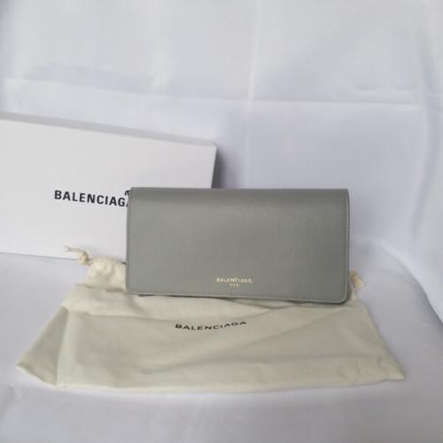 バレンシアガ 財布 コピー 大人シンプル balenciaga フラップ長財布