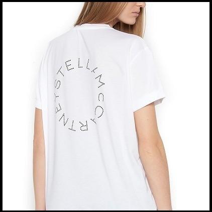 Stella McCartney ステラ・マッカートニー Tシャツ カットソー ロゴホワイトTシャツ