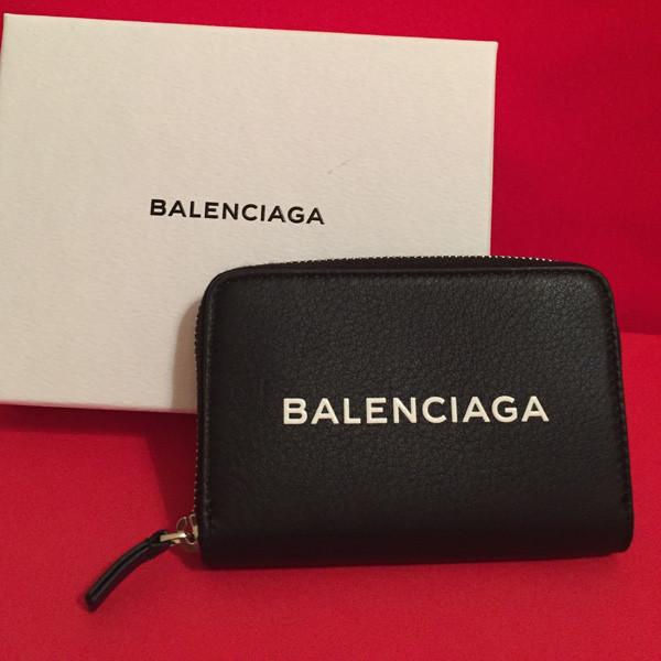BALENCIAGA ロゴジップコイン入れ コインケース 小銭入れ バレンシアガスーパーコピー