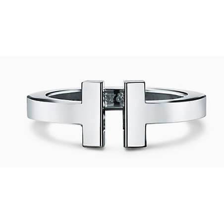 ティファニー コピー Tiffany T*スクエアリングSterling silver