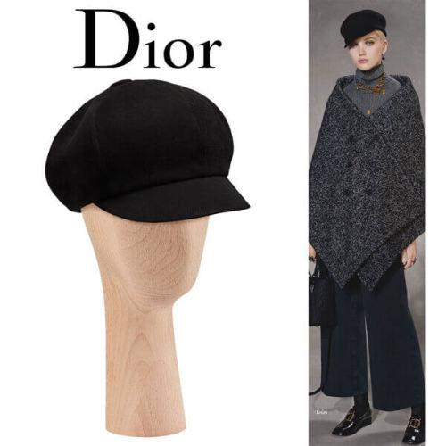 2019新作人気 Christian Dior ディオール キャップスーパーコピー ニュースボーイ キャスケット noir