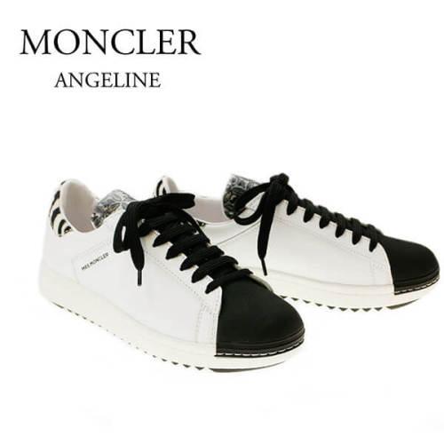 モンクレール シューズスーパーコピー スニーカー MONCLER ANGELINE 2021400 01924 998 WHITE/BLACK