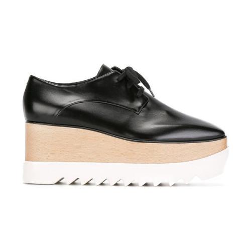 Stella McCartney シューズ サンダルセール 即完売新着 Elyse ブラック ステラマッカートニー 靴 コピー