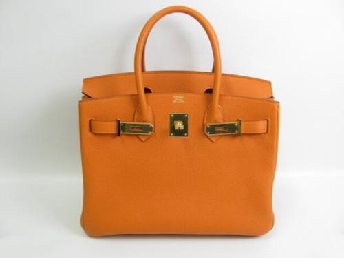 エルメス バーキン30 トゴ-オレンジ