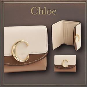 【クロエ 大人気!】 Chloe スモールトリフォールドウォレット偽物