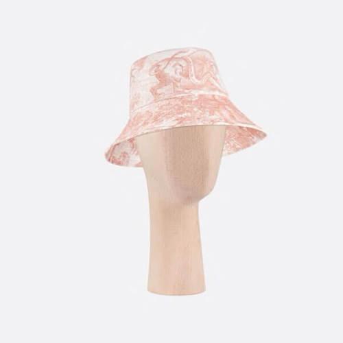 ☆DIOR ディオール キャップ コピー☆ 帽子 ハット バケット 柄 デニム 02TOJ924I130_C858