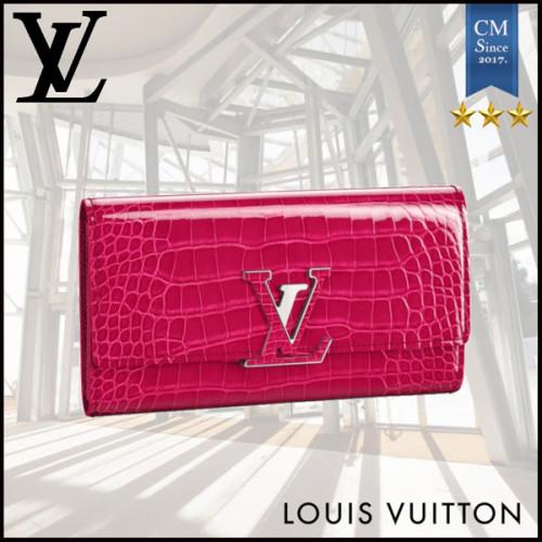 2021SS◇希少◇Louis Vuitton スーパーコピーカプシーヌ 長財布