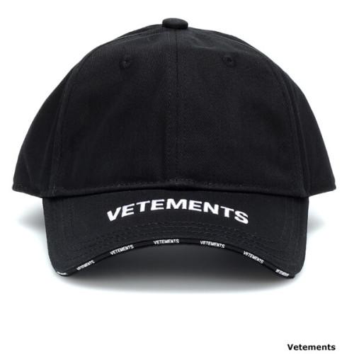 ヴェトモン キャップ 偽物 VETEMENTS Logo cotton baseball cap495058
