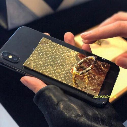 ルイヴィトン バンカーリング コピー注目度NO.1☆大人気 Vuitton TRUNK PHONE RING iphoneケース M63145