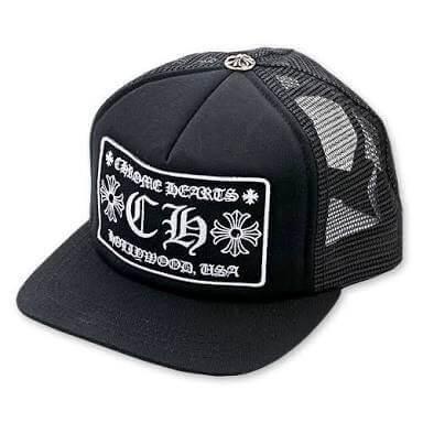 クロムハーツ 帽子 コピー キャップ シルバー925 トラッカーキャプ ブラックCH Las Vegas