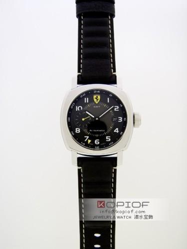 パネライ フェラーリ スーパーコピースクデリアGMT FER00009 45mm 世界限定1,000本 ブラック