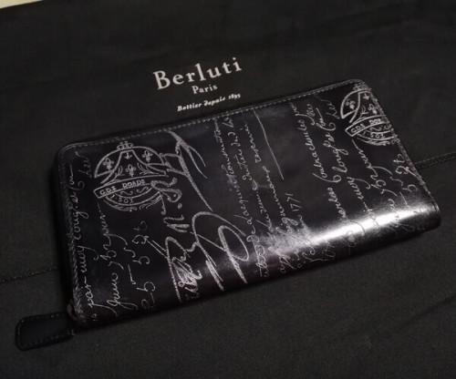 ベルルッティ財布 コピーBerluti 限定シルバーパティーヌ希少品 ベルルッティ IDEWA
