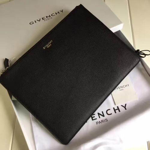 2017-2018AW Collection ジバンシィスーパーコピー GIVENCHY ロゴクラッチバッグ BK06061562 レザー