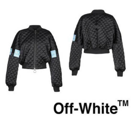 サカイ OFF-WHITE TM 偽物 ボンバージャケット レディース