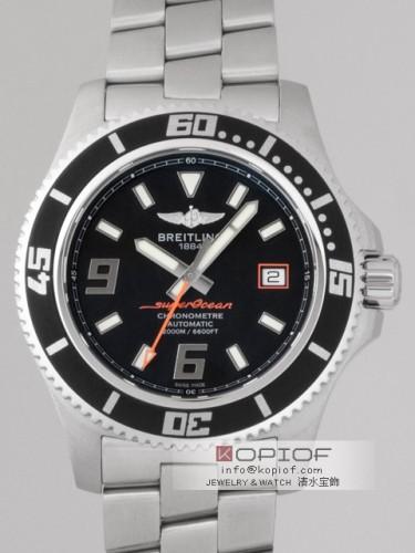 ブライトリング スーパーオーシャン スーパーコピースーパーオーシャン44 A1739102/BA80 A188B80PRS ブラック/アビスオレンジ