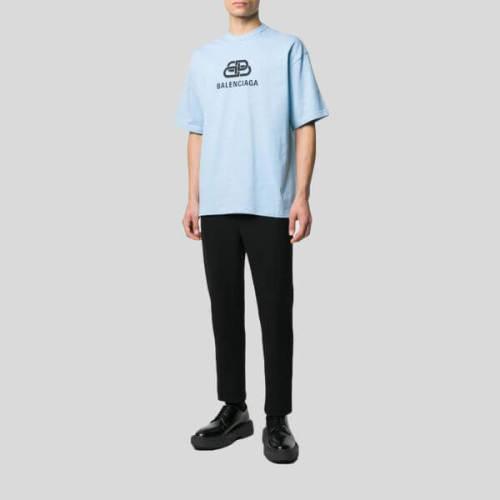 バレンシアガ tシャツ 偽物 BALENCIAGA ロゴTシャツ 578139 TGV75 5840