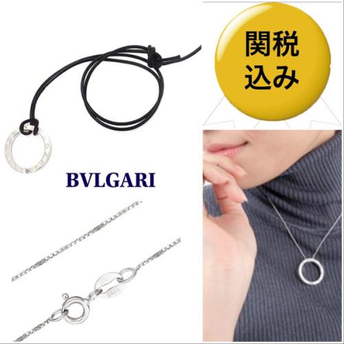 国内発送★Bvlgari★偽物B-Zero Silver ペンダントネックレス