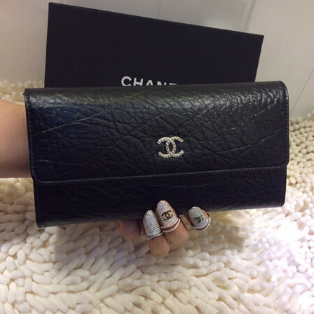 春夏新作Chanel シャネルスーパーコピー財布 ラムスキン A92668
