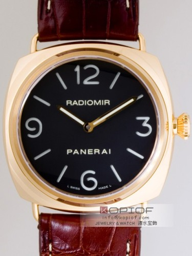 パネライ ラジオミール スーパーコピーベース PAM00231 45mm シースルーバック ブラック