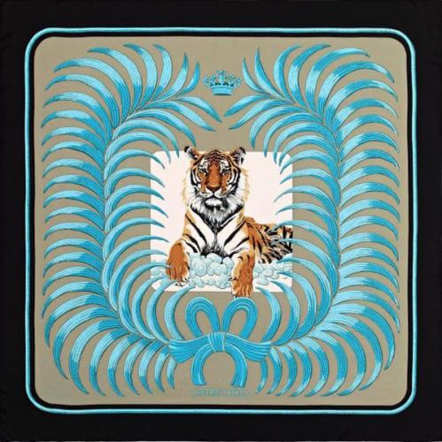 【最新モデル入荷】エルメス スカーフ コピー カレ ジェアン Tigre Royal 王者の虎