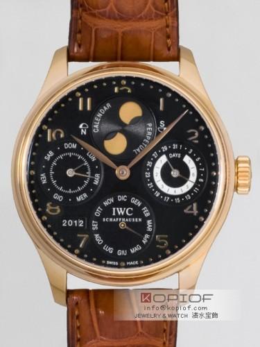 IWC ポルトギーゼ スーパーコピーパーペチュアルカレンダー IW502102 ブラック