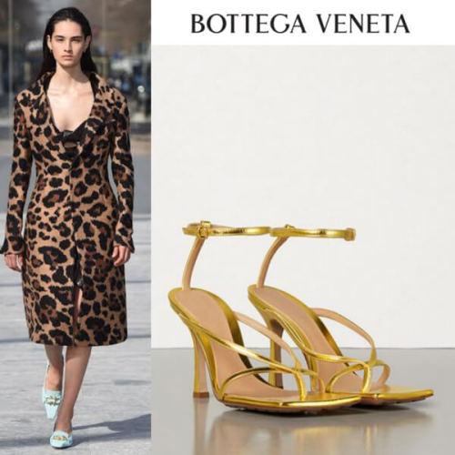 2020SS新作 BOTTEGA VENETA ☆ボッテガヴェネタ ストレッチ サンダル 偽物608835VBSF02