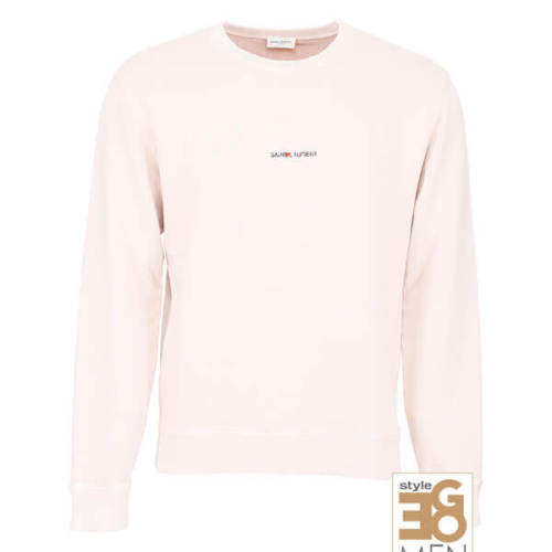 サンローラン スウェット コピー 18SS新作 スウェットトップス Light Pink ロゴスウェット498282 YB2MF 5450