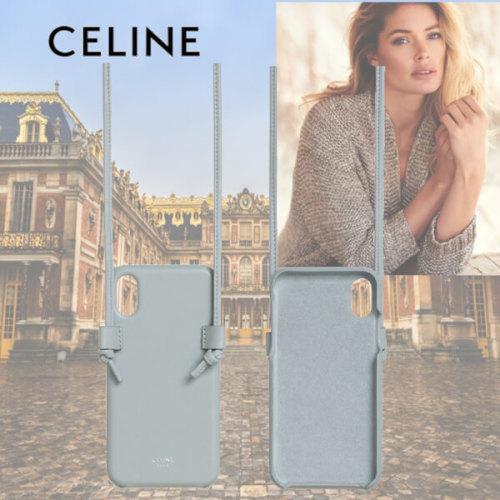 CELINE セリーヌ iphoneケース コピー ラムスキン IPHONE X&XSケース