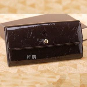 ルイヴィトン 財布 スーパーコピールイ・ヴィトン M93524 ポルトフォイユ・サラ アマラント