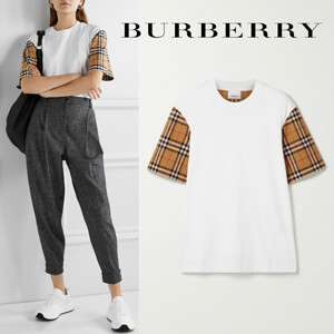 BURBERRY バーバリー Tシャツ コピー ヴィンテージチェックTシャツ 8014896ABTOTA1464