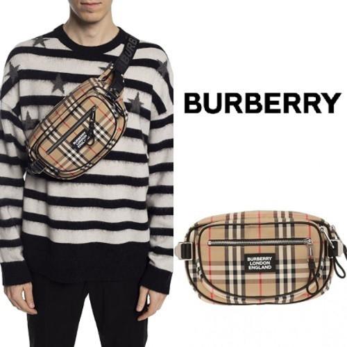 ★BURBERRY バーバリー ウエストポーチ コピー ヴィンテージチェック ベルトバッグ 8023034 A7028