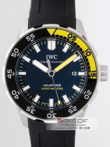 IWC アクアタイマー スーパーコピーIW356802 オートマッチック2000 ブラック